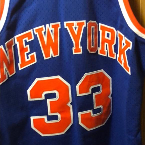best website e7374 b139c Patrick Ewing Mitchell & ness jersey